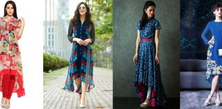 High Low Hem New Kurti Style